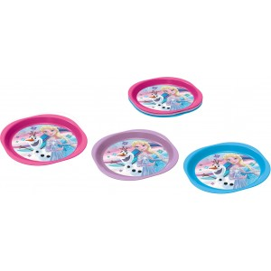 FROZEN 3 PCS PICNIC PP PLATE SET