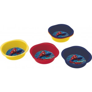 SPIDERMAN 3 PCS PICNIC PP BOWL SET