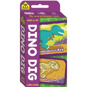 GAME CARDS-DINO DIG