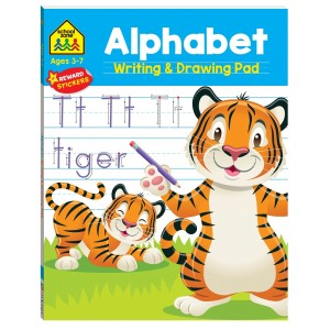 WORKBOOKS-ALPHABET WRITING AND DRAWING PAD