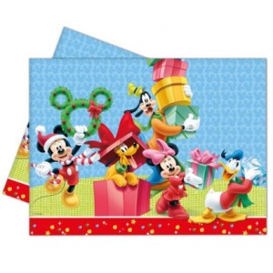 MICKEY CHRISTMAS TIME PLSTC TBLCOVER 120X180CM 1CT
