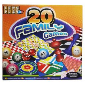 GAMES HUB-20 FAMILY GAMES