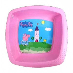 PEPPA PIG SQUARE SHAPED BOWL
