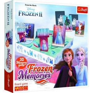 FROZEN-3D FROZEN MEMORIES BOARD GAME