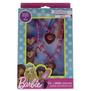 BARBIE-JEWELLERY SET