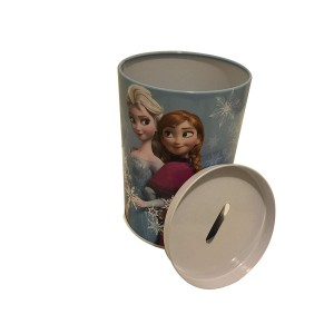FROZEN-TIN COIN BANK