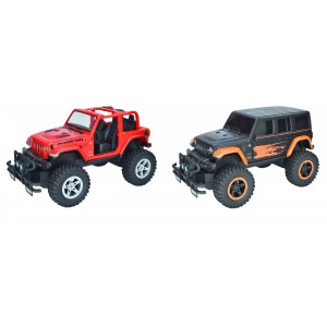 TAIYO RADIO CONTROL JEEP RED AND GREY ASST