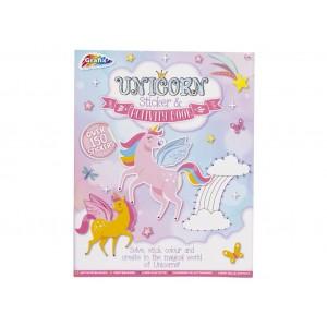 KIDS PAPER-UNICORN ACTIVITY & STICKER BOOK