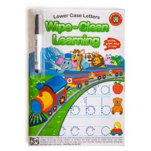 WIPE-CLEAN LEARNING LOWER CASE LETTERS