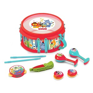 FISHER PRICE - RAINFOREST MUSICAL BAND DRUM SET