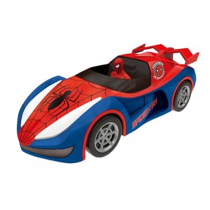SPIDERMAN 22CM FRICTION WITH LIGHT N SOUNDS