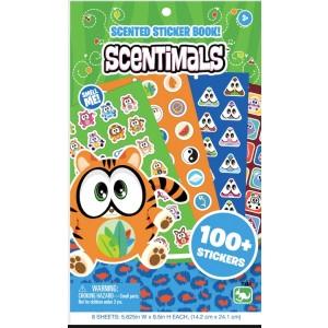 SCENTIMALS STATIONERY 200+ SCENTED STICKER BOOK