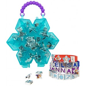 FROZEN 2 - CREATE YOUR OWN BLUE BRCELET N BEAD SET