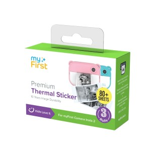 MYFIRST INSTA 2 THERMAL STICKER REFILL PACKS