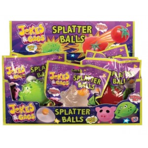 POCKET MONEY JOKES N GAGS SPLATTER BALLS