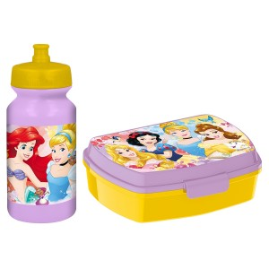 PRINCESS FUNNY SBOX AND PUSHUP SPORTS BOTTLE 340ML