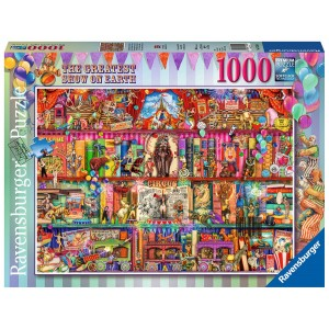 1000PC PUZZLES-THE GREATEST SHOW ON EARTH