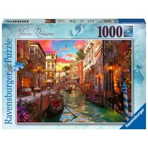 1000PC PUZZLES-VENICE ROMANCE