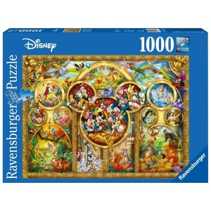 1000PC PUZZLES-THE BEST DISNEY THEMES