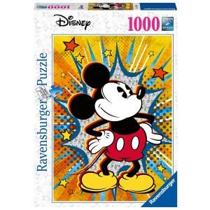 1000PC PUZZLES-RETRO MICKEY
