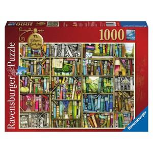 1000PC PUZZLES-THE BIZZARRE BOOKSHOP