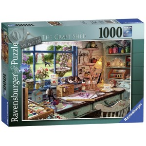 1000PC PUZZLES-THE CRAFT SHED