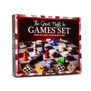 GAMES HUB NIGHT IN GAMES SET