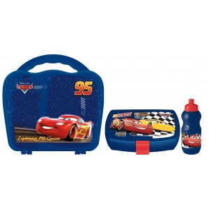 CARS 3 FAST FRIENDS WAVE JNR LB AND ASTRO BOTTLE