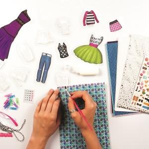 DESIGN KITS-PAPER MACHE FASHION DESIGN KIT