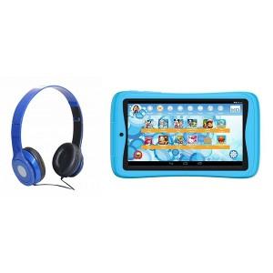 KURIO BUNDLE TAB + FREE HEADPHONES - BLUE