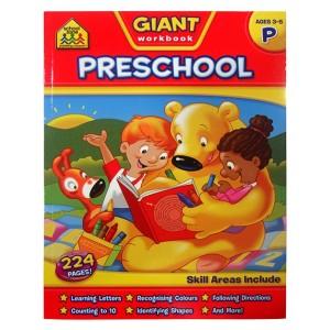 WORKBOOKS-GIANT PRESCHOOL WORKBOOK
