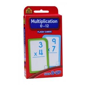FLASH CARDS-MULTIPLICATION 0-12