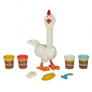 PLAY DOH-CLUCK A DEE FEATHER FUN CHICKEN