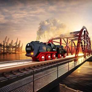 BRIO STEAMING TRAIN