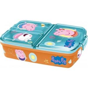 PEPPA PIG MULTI COMPARTMENT SANDWICH BOX