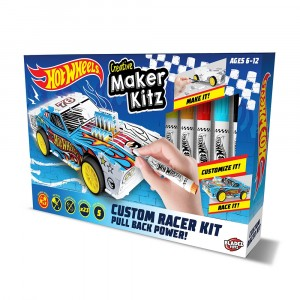 HOT WHEELS MAKER KITZ-CUSTOM RACER KIT