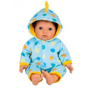 TINY TREASURES DINOSAUR ALL-IN-ONE OUTFIT