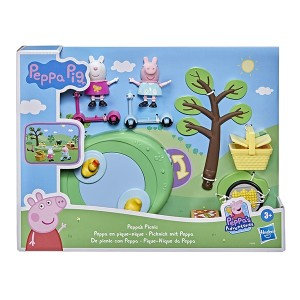 PEPPA PIG-FIGURE AND ACCESORY PLAYSET ASST