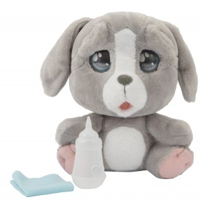 EMOTION PET - CRY PETS 2 ASST (BLACK AND GREY DOG)