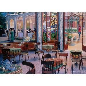 1000PC PUZZLES-A CAFÉ VISIT