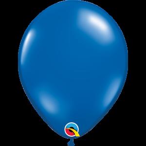 11 INCH LATEX JEWEL SAPPHIRE BLUE 100CTP