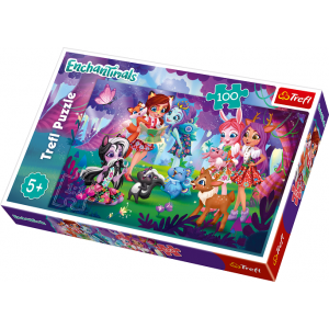 TREFL-100 PC PUZZLE ENCHANTIMALS