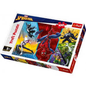 TREFL-100 PC PUZZLE SPIDERMAN