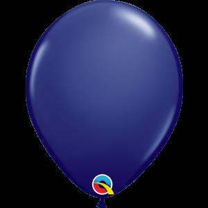 11 INCH LATEX RND NAVY BLUE 100CTP