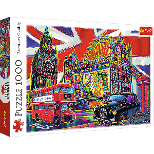 TREFL-1000 PC PUZZLE COLOURS OF LONDON
