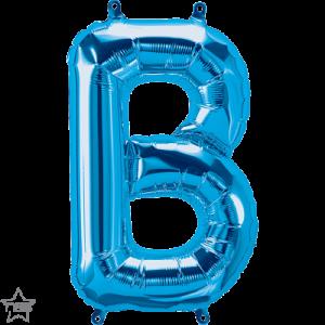 16 IN FOIL BLUE LETTER B AIR FILLED 1CTP