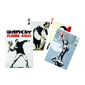 CARDS BANKSY