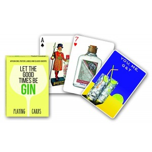 CARDS GIN PLAYING CARDS; SF