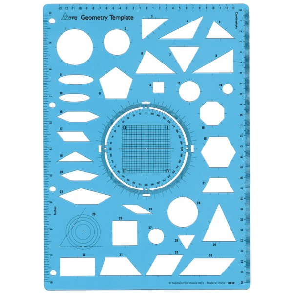 Geometry Template | Tfc Template Geometry 1p